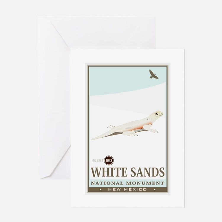 National Parks - White Sands 2 Greeting Card