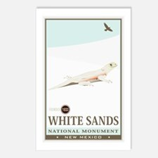 National Parks - White Sands 2 Postcards (Package