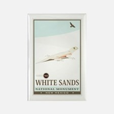 National Parks - White Sands 2 Rectangle Magnet