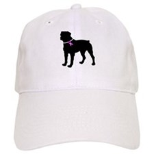 Rottweiler Breast Cancer Supp Baseball Cap