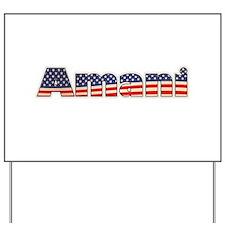 American Amani Yard Sign