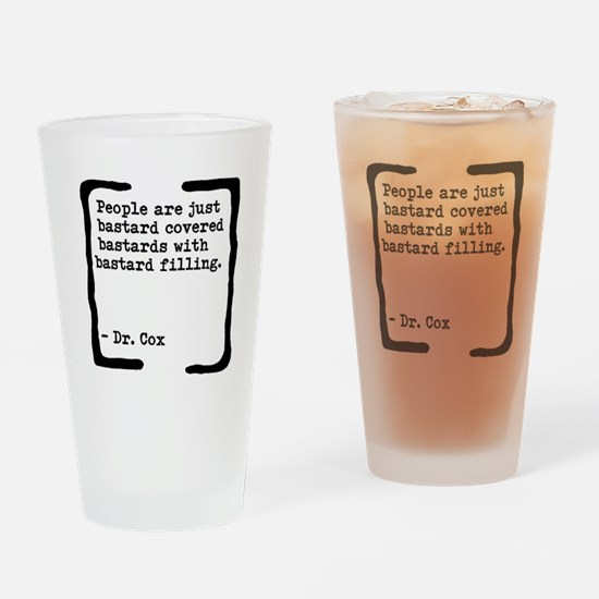 Bastard Covered Bastards Drinking Glass