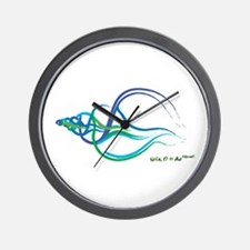 Sea Shell Formula Wall Clock