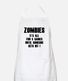 Zombies Fun and Games Apron