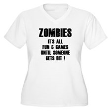 Zombies Fun and Games T-Shirt