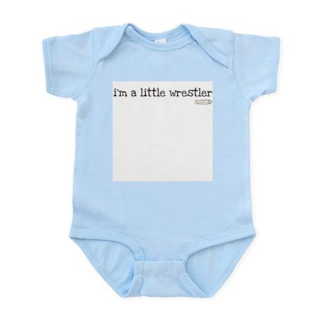 i'm a little wrestler Infant Bodysuit