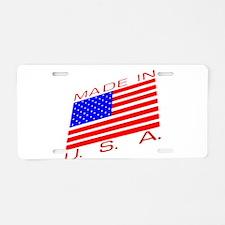 MADE IN U.S.A. CAMPAIGN XIII Aluminum License Plat