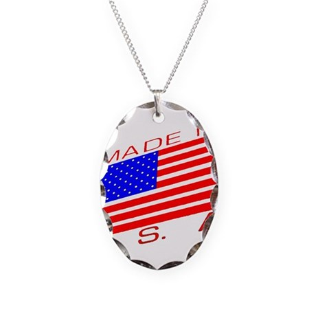 MADE IN U.S.A. CAMPAIGN XIII Necklace Oval Charm