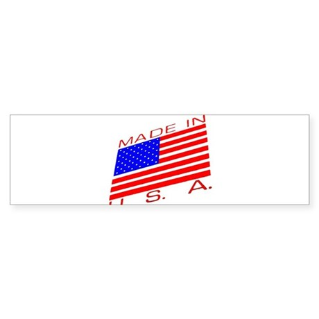 MADE IN U.S.A. CAMPAIGN XIII Sticker (Bumper)