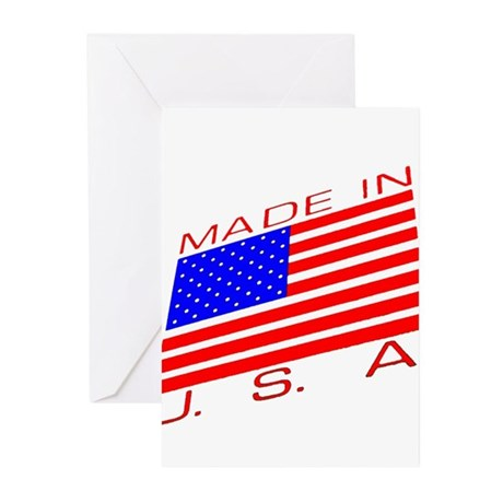 MADE IN U.S.A. CAMPAIGN XIII Greeting Cards (Pk of