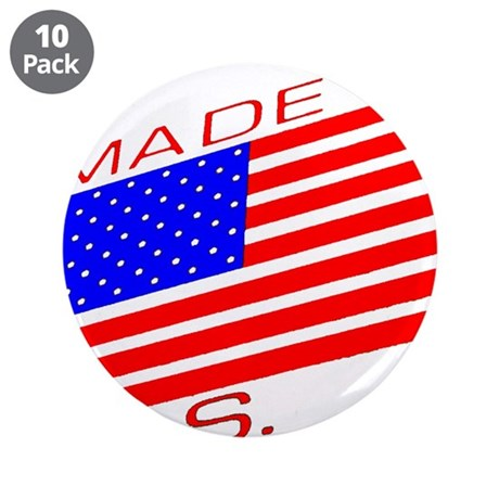 """MADE IN U.S.A. CAMPAIGN XIII 3.5"""" Button (10 pack)"""