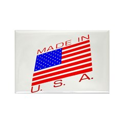 MADE IN U.S.A. CAMPAIGN XIII Rectangle Magnet (100