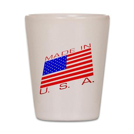 MADE IN U.S.A. CAMPAIGN XIII Shot Glass