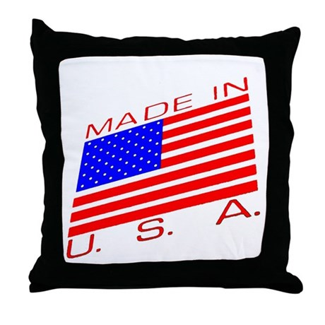 MADE IN U.S.A. CAMPAIGN XIII Throw Pillow