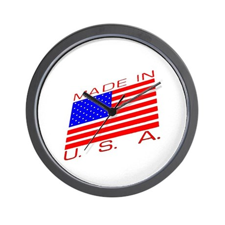 MADE IN U.S.A. CAMPAIGN XIII Wall Clock