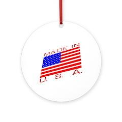 MADE IN U.S.A. CAMPAIGN XIII Ornament (Round)