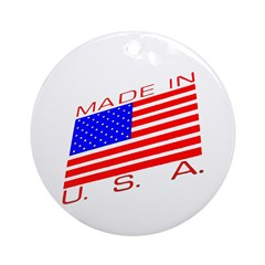 MADE IN U.S.A. CAMPAIGN XIII Ornament (Round)