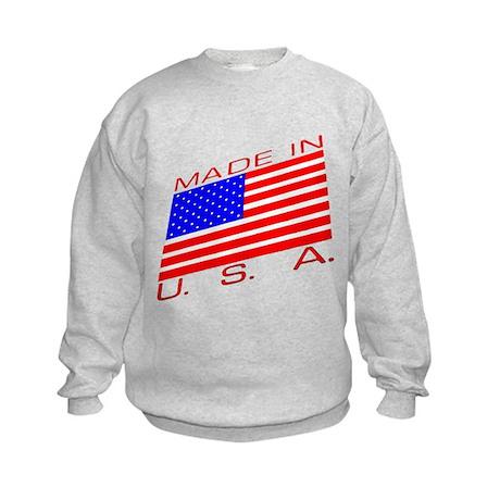 MADE IN U.S.A. CAMPAIGN XIII Kids Sweatshirt