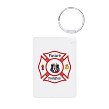 Future Firefighter Red Keychains