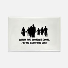 Zombies Quote Rectangle Magnet