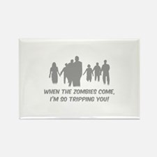 Zombies Quote Rectangle Magnet (10 pack)