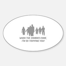 Zombies Quote Decal
