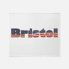 American Bristol Throw Blanket