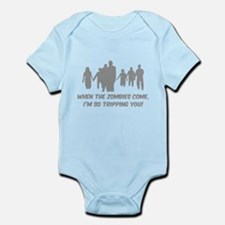 Zombies Quote Infant Bodysuit