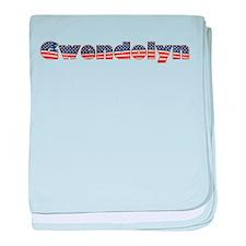 American Gwendolyn baby blanket