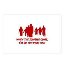 Zombies Quote Postcards (Package of 8)