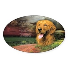 """""""Why God Made Dogs"""" Golden Retriever Decal"""