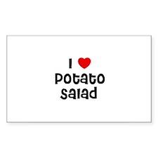 I * Potato Salad Rectangle Decal
