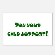 child support Postcards (Package of 8)