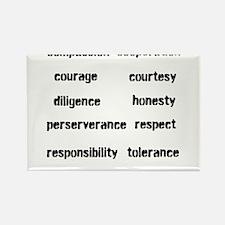 Cute Tolerance Rectangle Magnet (100 pack)