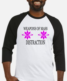 Weapons of Mass Distraction Baseball Jersey