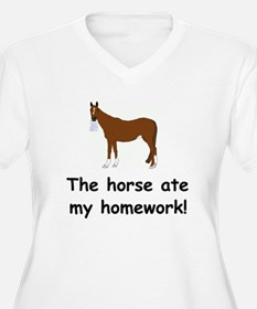 The Horse ate my homework T-Shirt