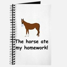 The Horse ate my homework Journal