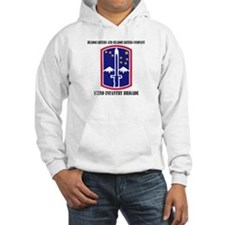 HHC - 172 Infantry Brigade with text Jumper Hoody