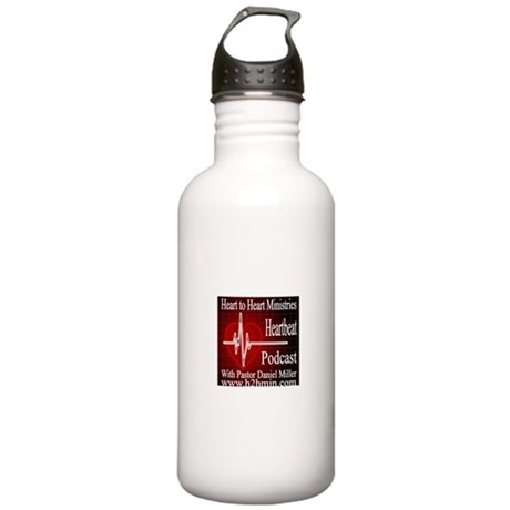 The Heartbeat Podcast Store Stainless Water Bottle