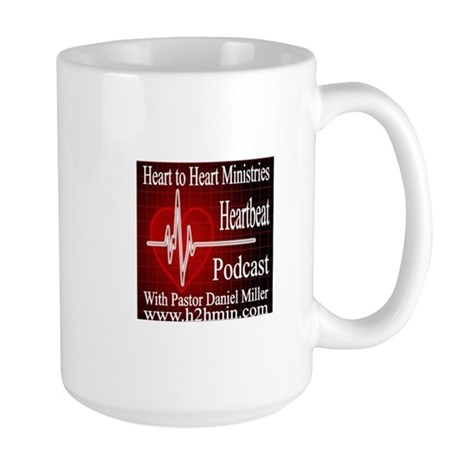 The Heartbeat Podcast Store Large Mug