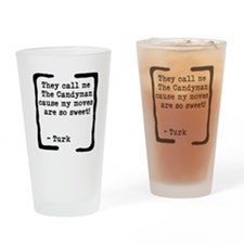 The Candyman Drinking Glass