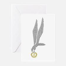 Znak Spadochronowy (2) Greeting Cards (Pk of 10)