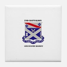 DUI - 2nd Battalion 18th Infantry Rgt with Text Ti