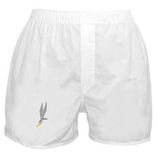 GROM Eagle - Silver - Gold Boxer Shorts