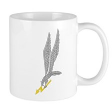 GROM Eagle - Silver - Gold Mug