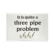 Three Pipe Problem Rectangle Magnet