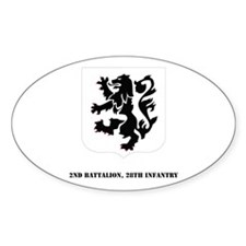 DUI-2nd Bn, 28th Infantry with Text Decal