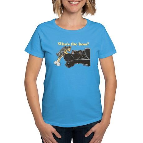 NB/Yorki Who's The Boss? Women's Dark T-Shirt