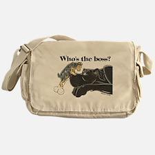 NB/Yorki Who's The Boss? Messenger Bag
