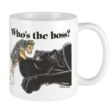 NB/Yorki Who's The Boss? Mug